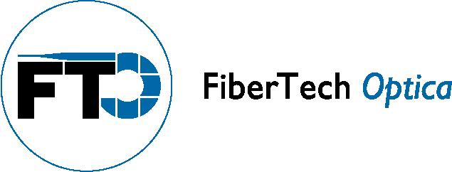 FiberTech Optica Logo Black